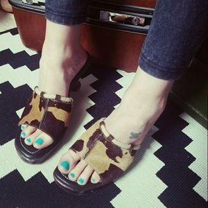 Boho Cowgirl, JOEY, wooden heels!!